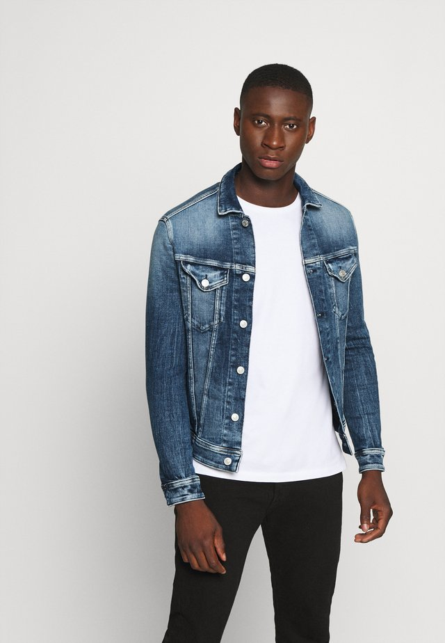 AGED - Denim jacket - medium blue