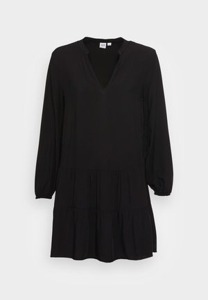 MINI DRESS - Day dress - true black