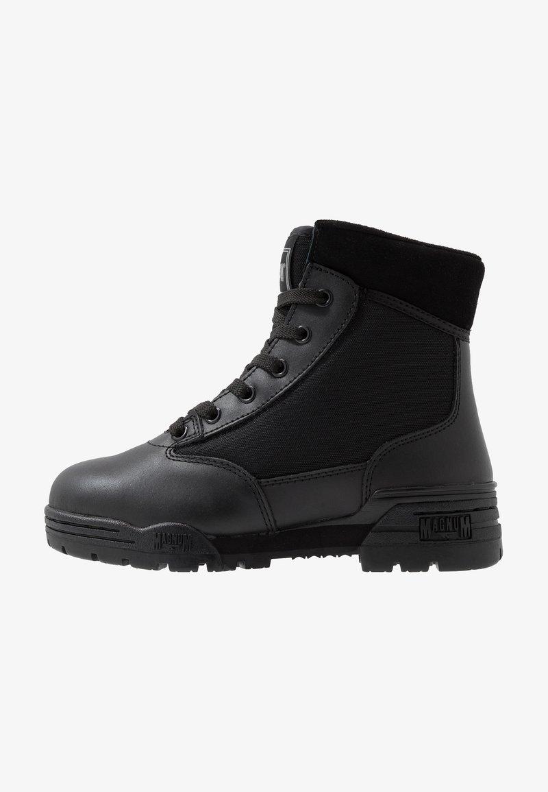 Hi-Tec - MAGNUM CLASSIC MID - Hiking shoes - black
