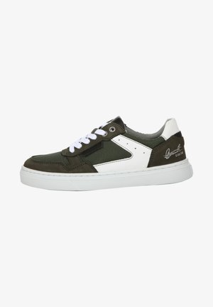 Sneakers laag - green/white