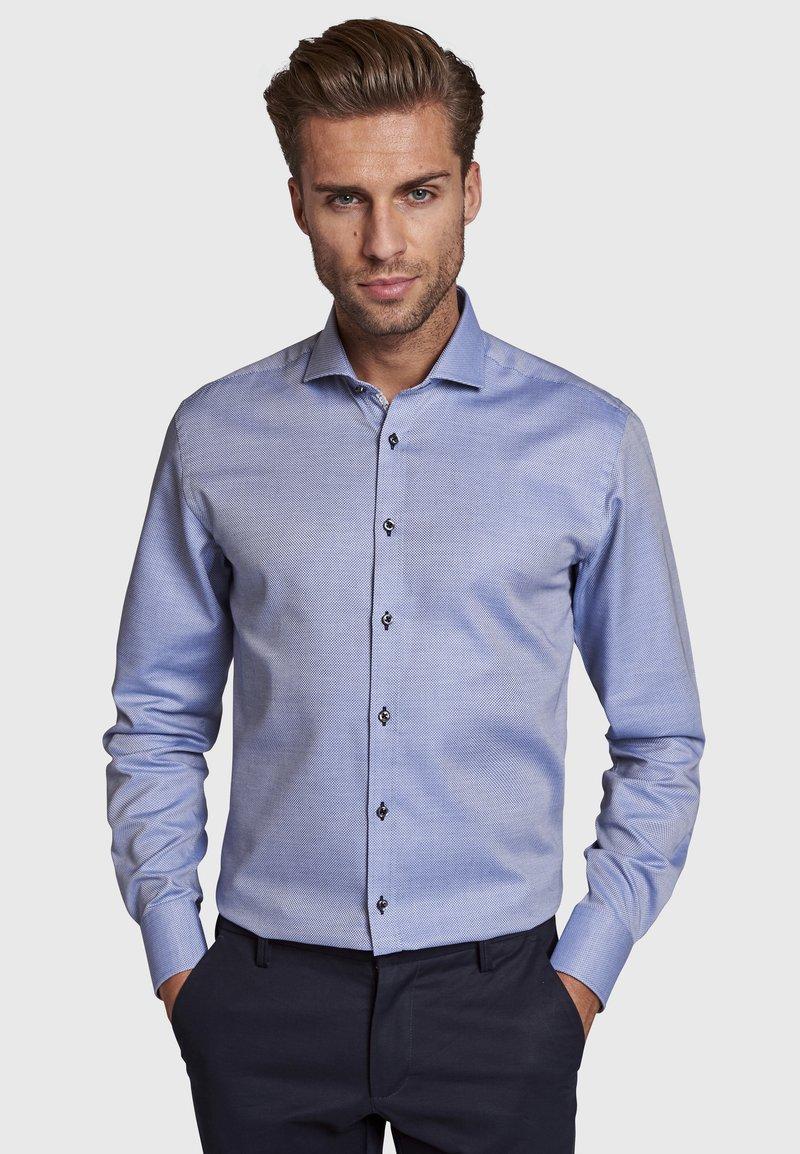 Bruun & Stengade - MALCOM - Zakelijk overhemd - blue