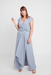 TFNC Curve - JUBA - Koktejlové šaty/ šaty na párty - grey blue - 1