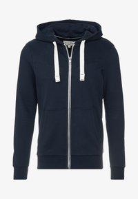 TOM TAILOR DENIM - CUTLINE  - Zip-up hoodie - sky captain blue - 3