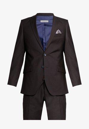 SUIT REGULAR FIT - Suit - bordeaux