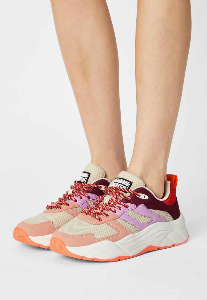 Scotch & Soda - CELEST - Sneakers laag - pink/multi
