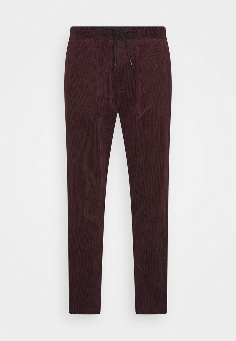 Scotch & Soda - FAVE SOFT PANT WITH ELASTICATED WAISTBAND - Trousers - fire brick