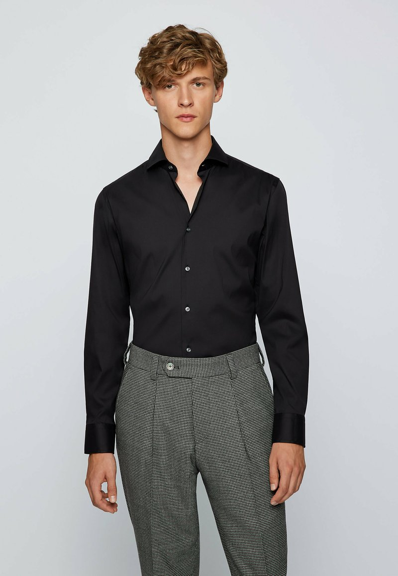 BOSS - SPREAD - Formal shirt - black