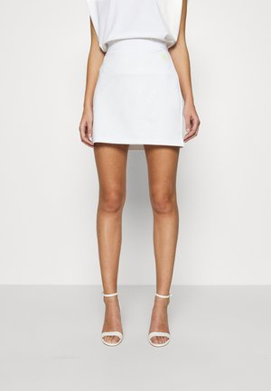 MILANO SKIRT - Mini skirt - bright white