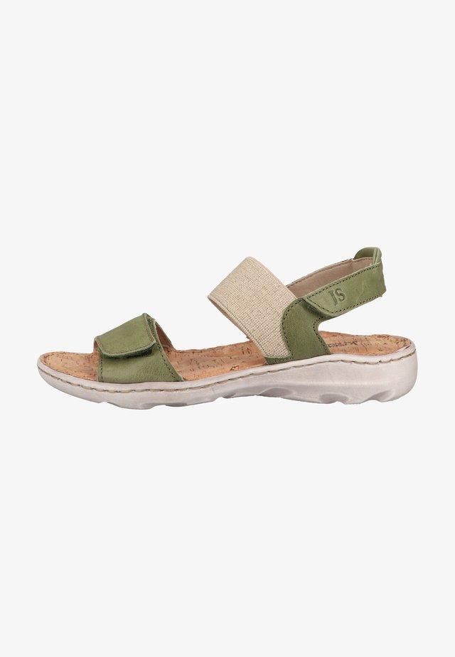 Sandały trekkingowe - grün-kombi