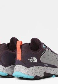 The North Face - Climbing shoes - meldgry/darkeggplantpurpl - 1
