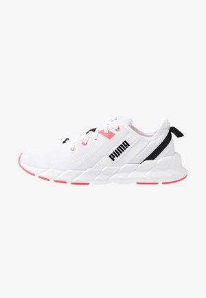 WEAVE XT - Laufschuh Stabilität - white/pink alert