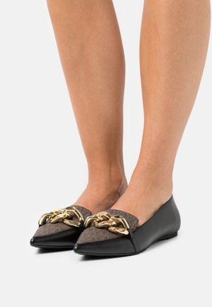 SCARLETT FLEX FLAT - Ballet pumps - black/brown