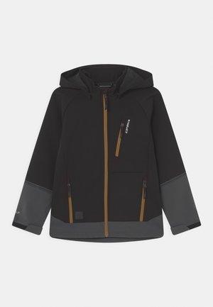 KADOKA JR UNISEX - Softshellová bunda - black