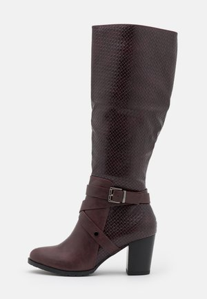 HEADLINER - Boots - mulberry