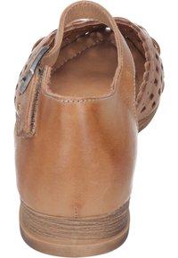 Piazza - Ankle strap ballet pumps - coconut - 2