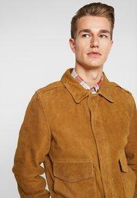 Schott - Leather jacket - rust - 3