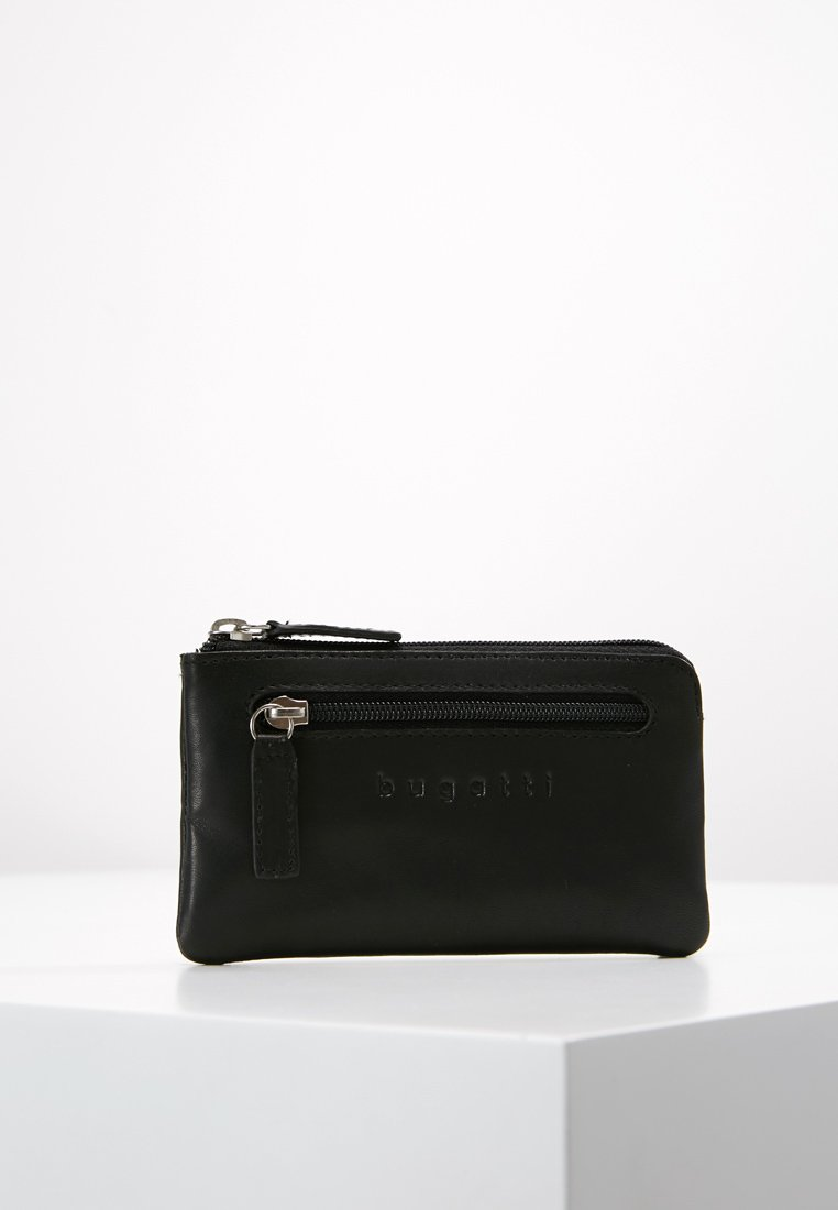 Bugatti - PRIMO SCHLÜSSELETUI MIT 2 RINGEN / KEY CASE WITH 2 RINGS - Key holder - schwarz