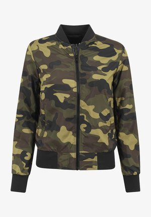 Bomber Jacket - woodcamo