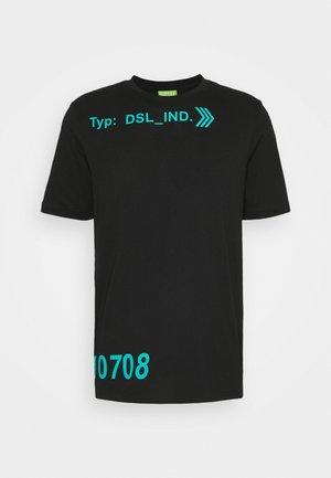 T-JUST-A42 MAGLIETTA UNISEX - Print T-shirt - black