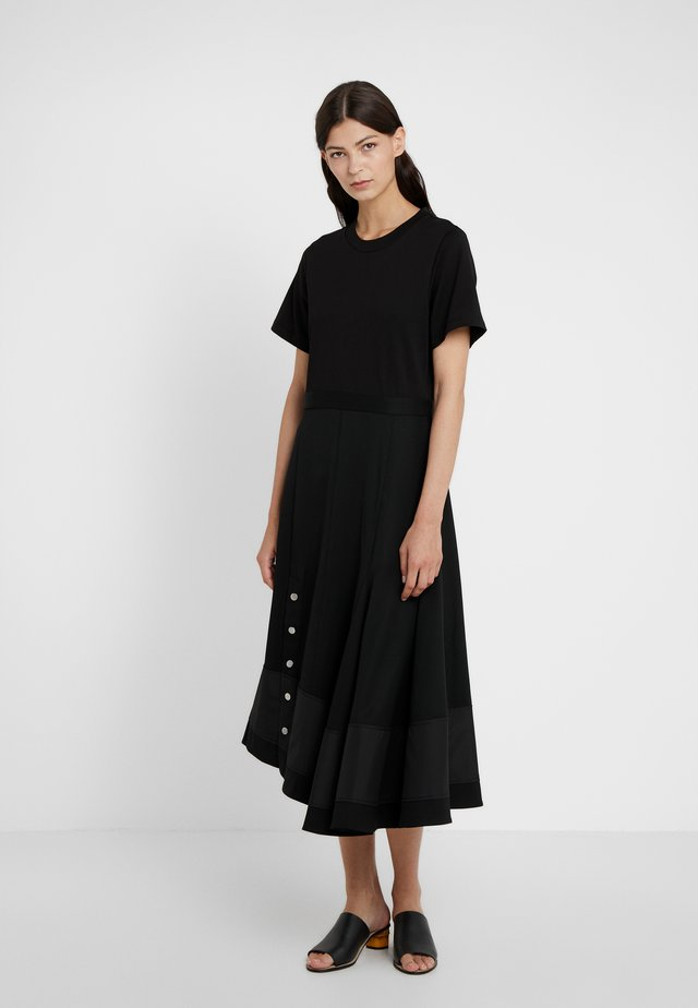 FLARE SKIRT DRESS - Vestito estivo - black