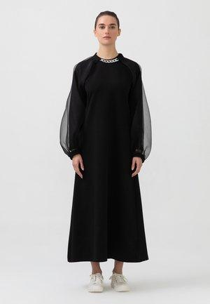 ORGANZA - Maxi-jurk - black