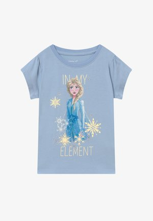 NKMFROZEN TEA - T-Shirt print - blue