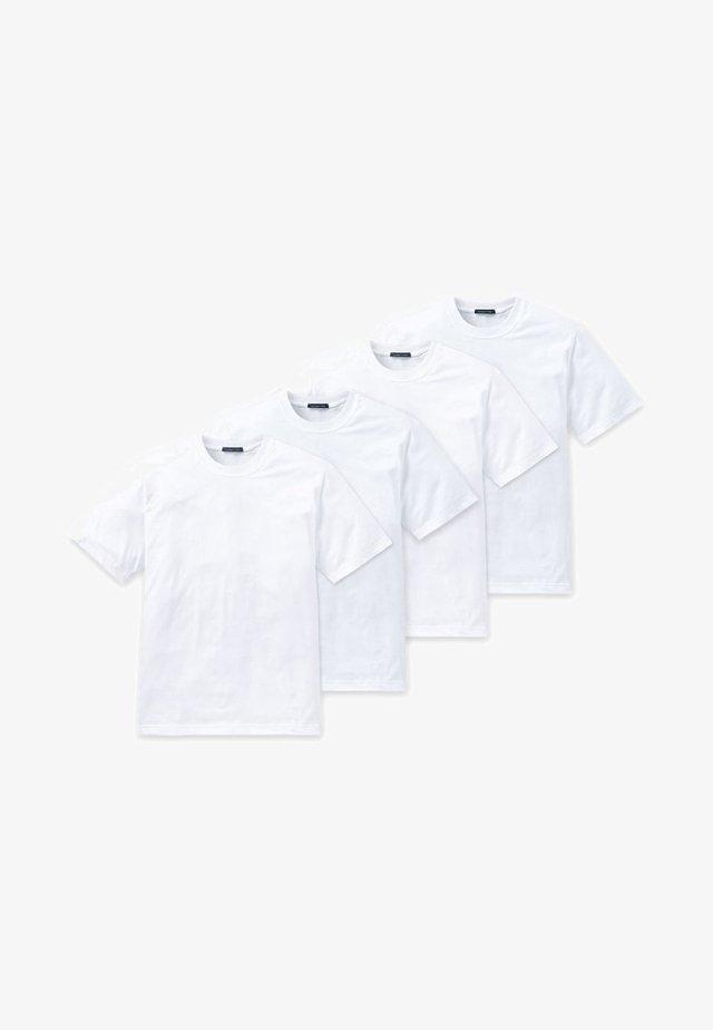 4 PACK - Hemd - weiß