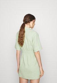 sandro - Day dress - vert amande - 2