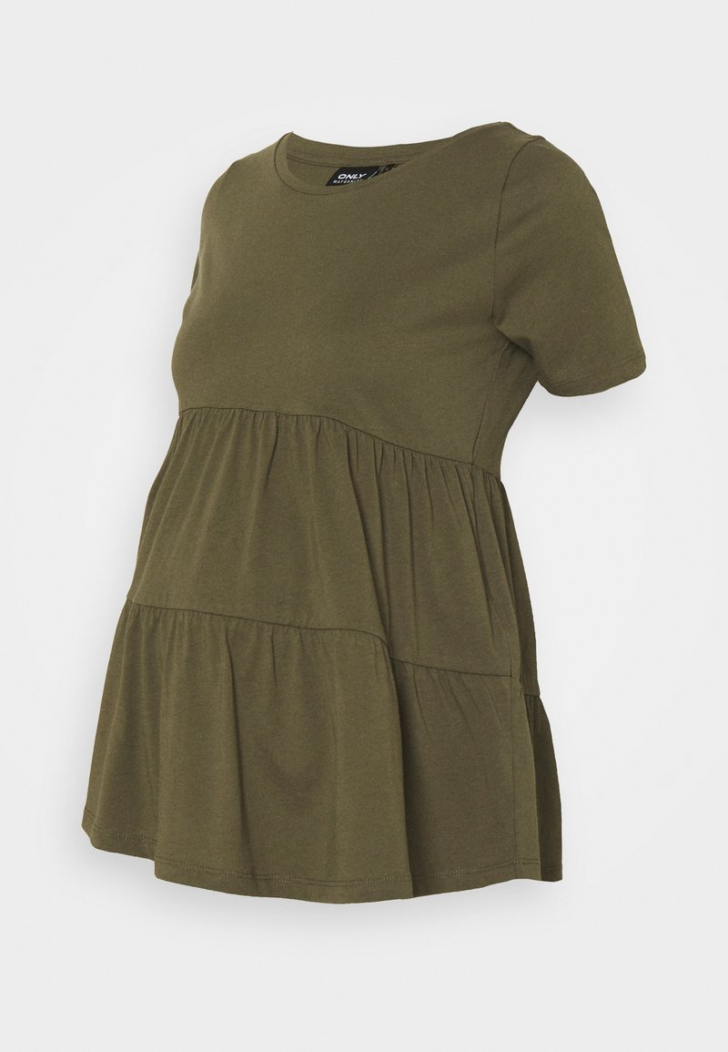 ONLY - OLMAYCA PEPLUM - Camiseta básica - kalamata