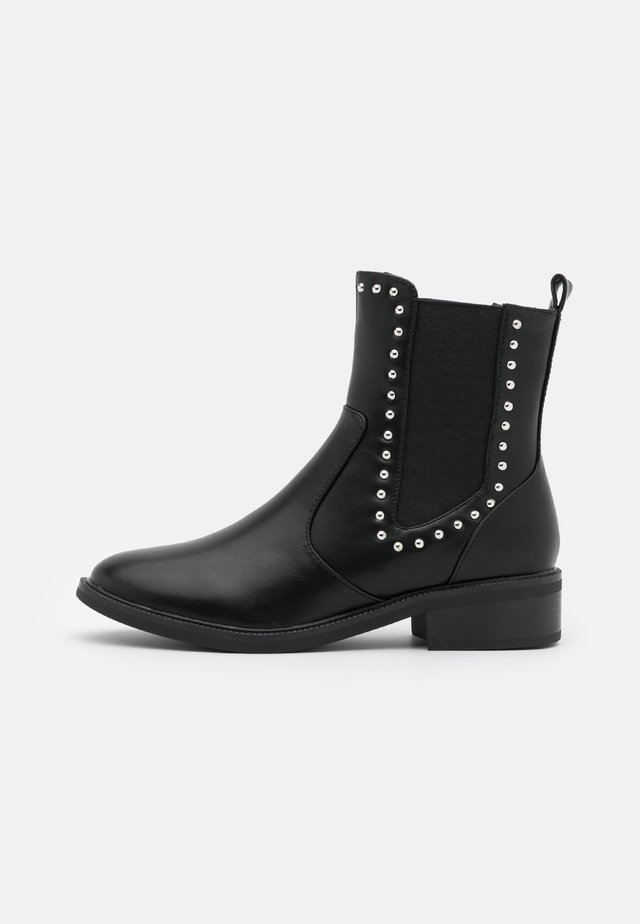 WIDE FIT BLANCA - Classic ankle boots - black