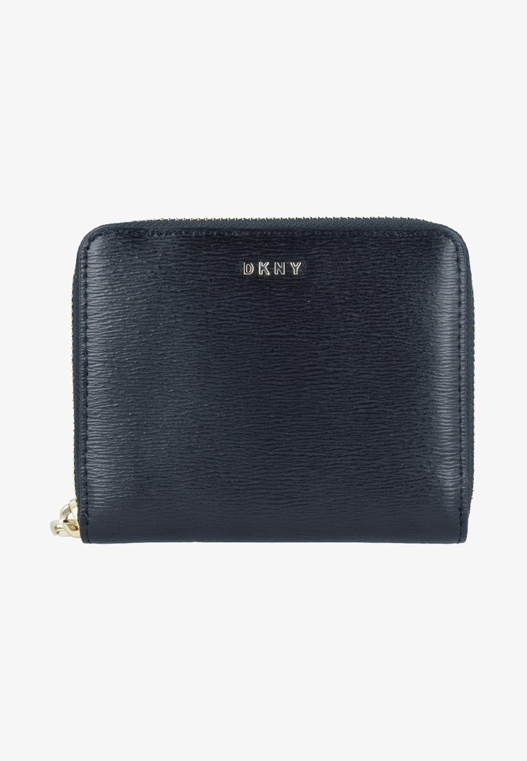 DKNY - BRYANT ZIP AROUND LOGO - Monedero - black