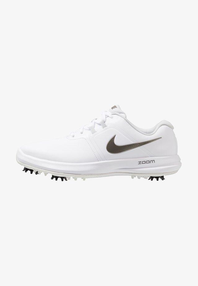 AIR ZOOM VICTORY - Chaussures de golf - white/metallic pewter/vast grey/platinum tint