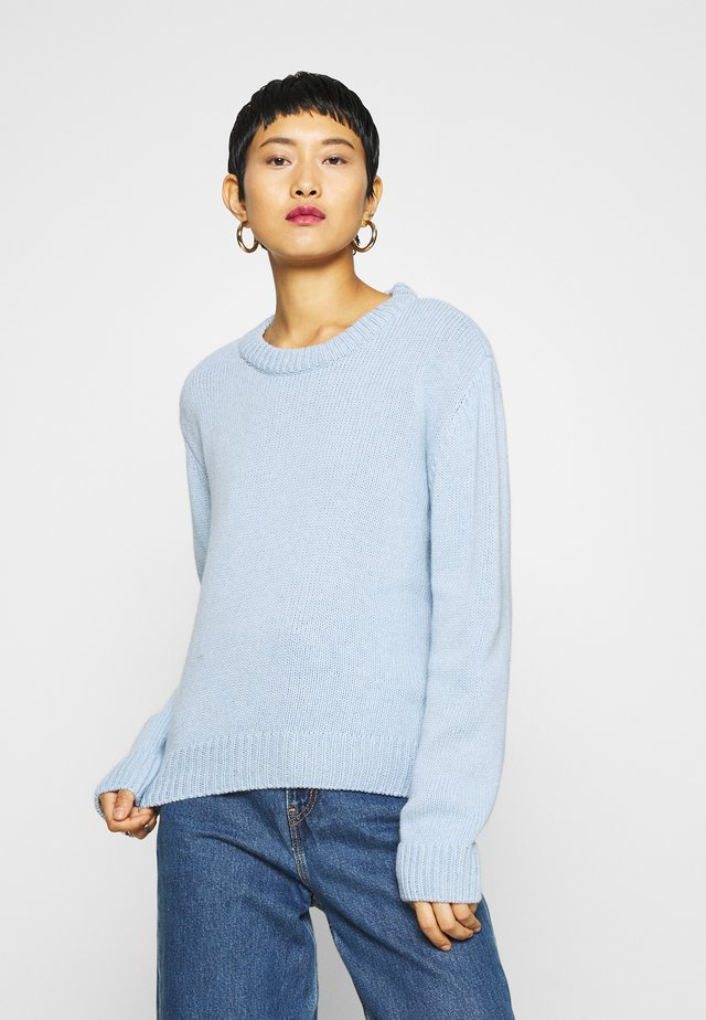 KAILY - Jumper - light blue melange
