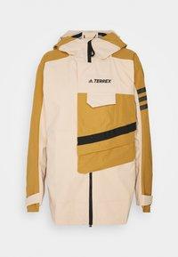 adidas Performance - TERREX XPLORIC RAIN - Hardshell jacket - halo blush/mesa - 8