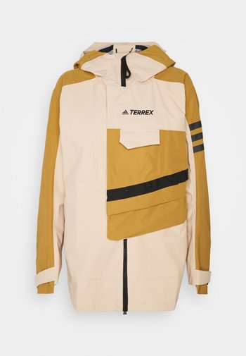 TERREX XPLORIC RAIN - Hardshell jacket - halo blush/mesa