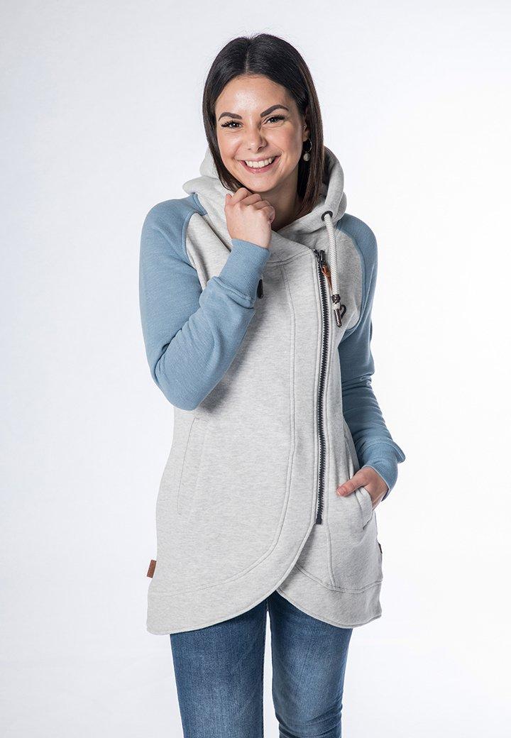alife & kickin - Zip-up hoodie - grey