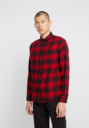 JORSLASH RELAXED FIT - Skjorta - brick red