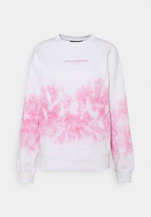 TIE DYE LOGO - Sudadera - pastel pink