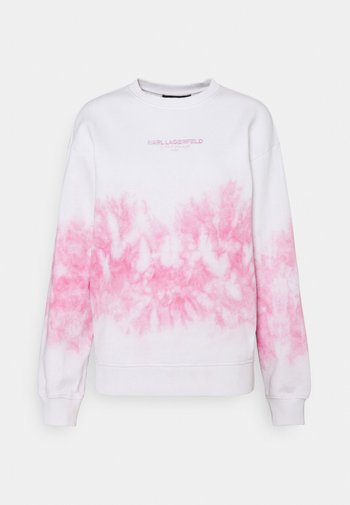 TIE DYE LOGO - Sweatshirt - pastel pink