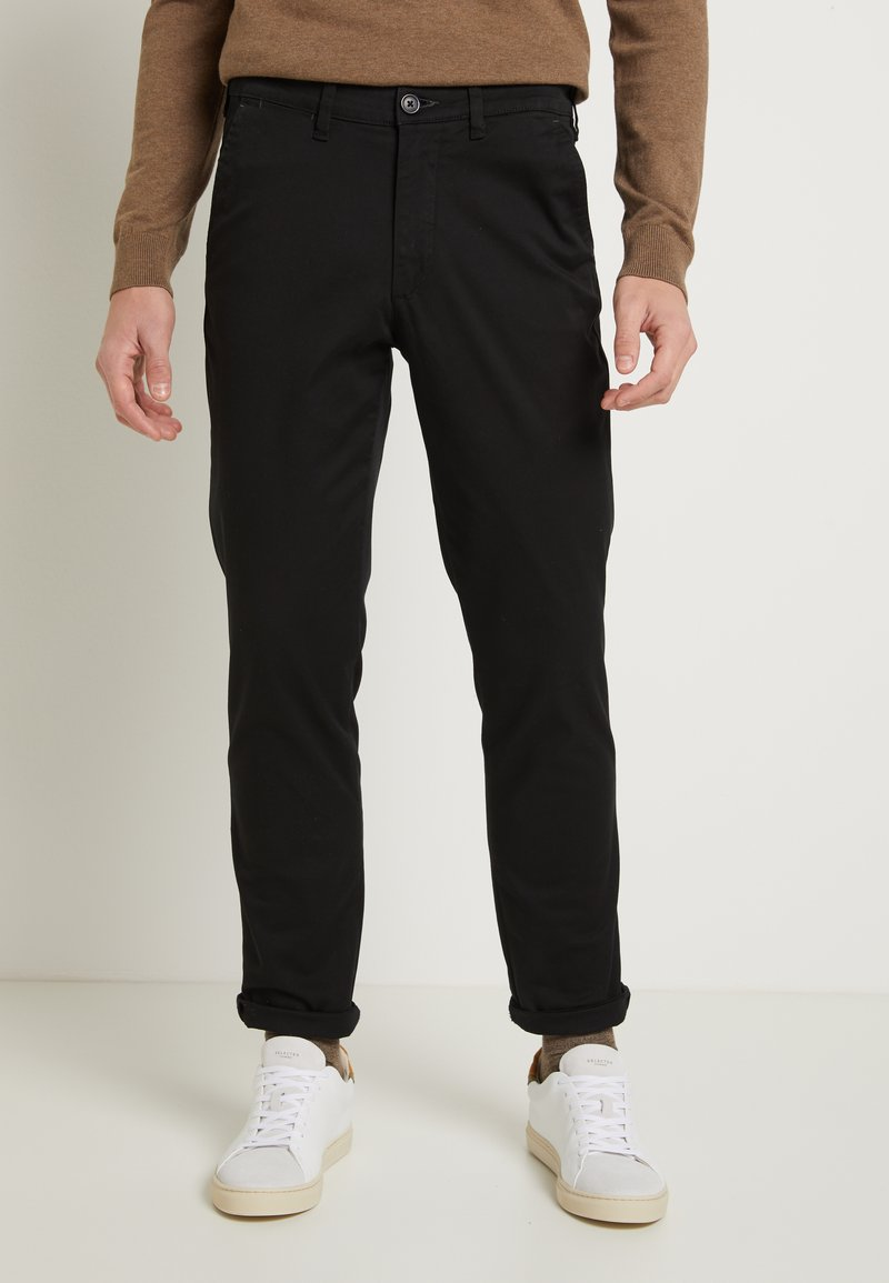 Selected Homme - SLHSLIM-MILES - Chino - black