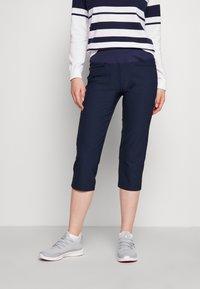 Puma Golf - CAPRI - 3/4 sports trousers - navy blazer - 0