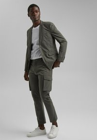 Esprit Collection - Cargo trousers - dark khaki - 1