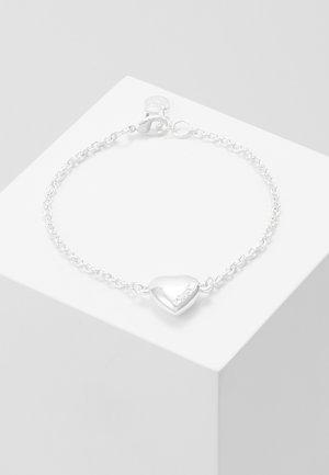 SMALL CARD CHAIN BRACE - Náramek - plain silver-coloured