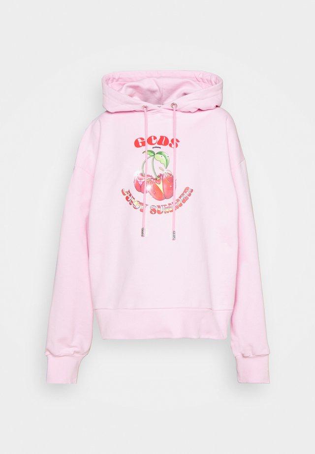 BASIC FRUIT HOODIE - Sweatshirt - cradle pink