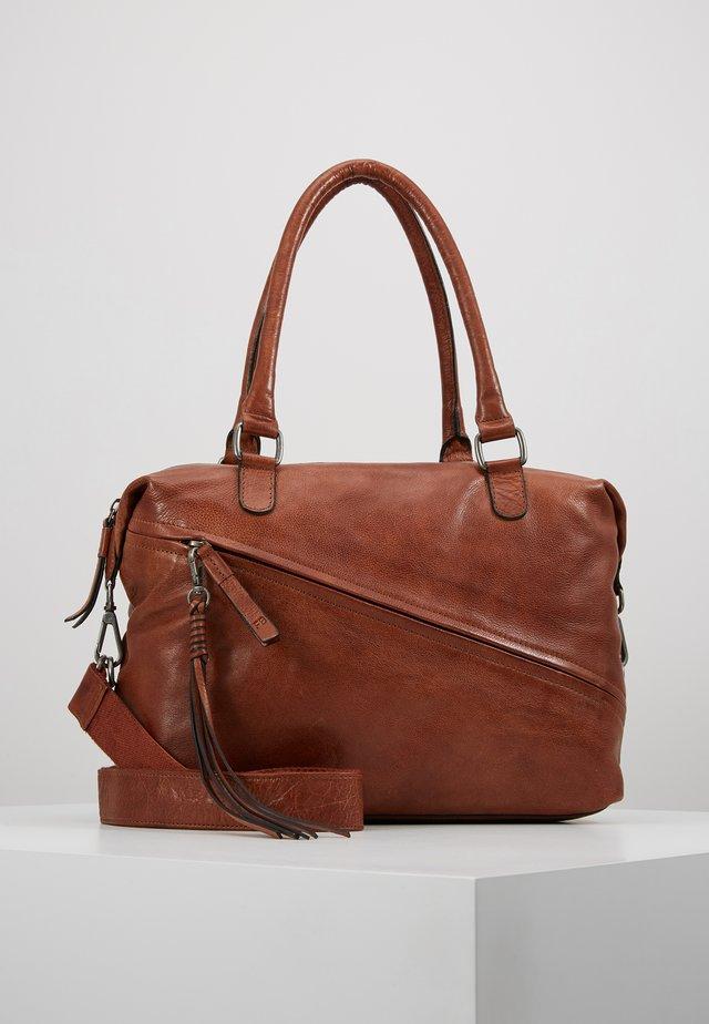 LUCKY - Handbag - whisky