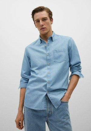 CHAMBRE - Camicia - bleu clair
