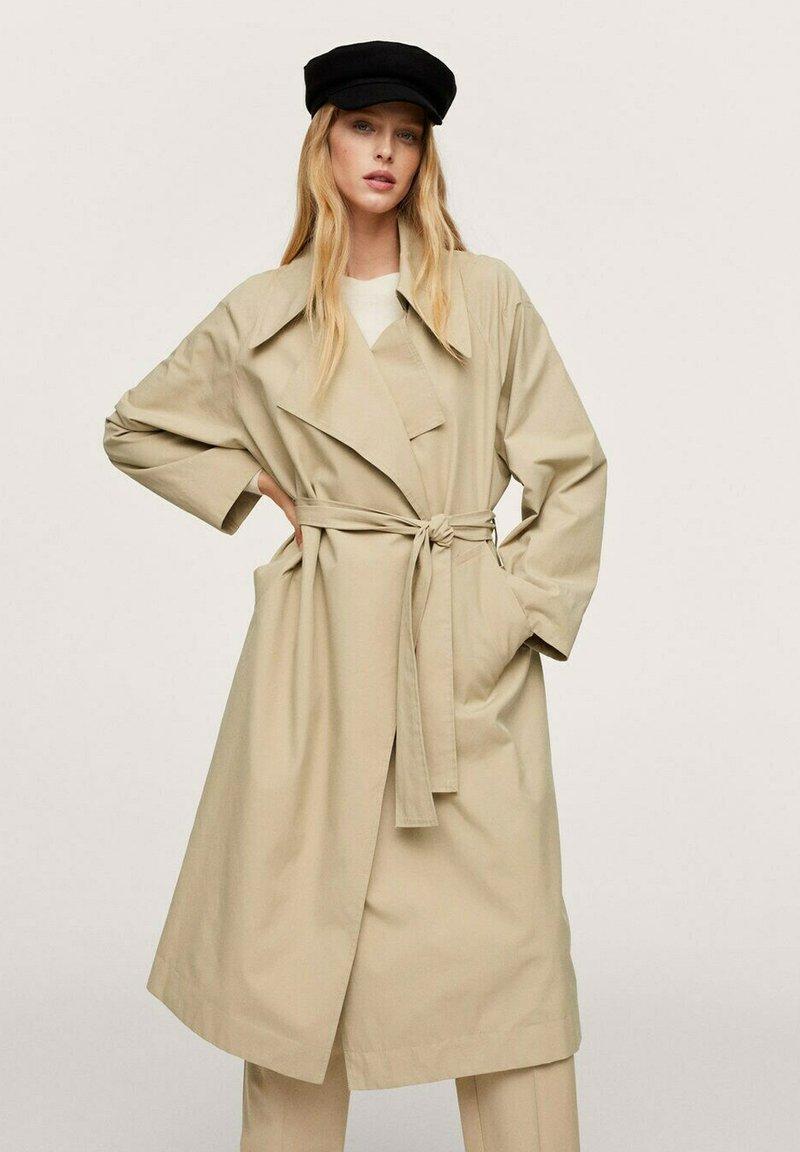 Mango - JOHAN - Trenchcoat - beige