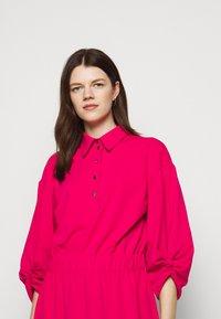 Marc Cain - Jersey dress - pink - 3