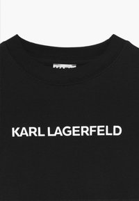 KARL LAGERFELD - SHORT SLEEVED - Žerzejové šaty - black - 3