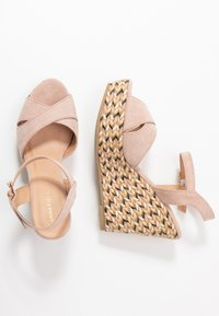 Anna Field - Korolliset sandaalit - rose - 3